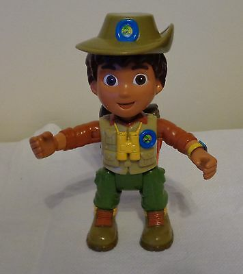 "Dora The Explorer Go Diego Go Safari Adventure 6.5"" Plastic Posable Figure"