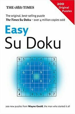 The Times Easy Su Doku Paperback Book The Cheap Fast Free Post