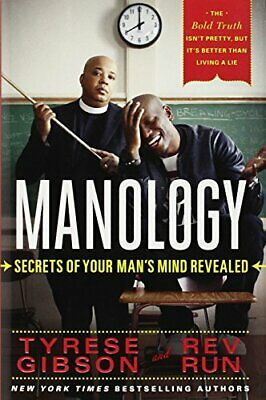 Manology: Secrets of Your Man's Mind Revealed by Rev Run Book The Cheap Fast