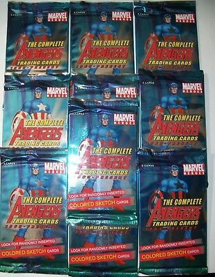 2006 Rittenhouse Archives The Complete Avengers sealed pack