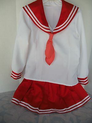 Lucky Star Winter School Uniform Cosplay Costume Size Medium