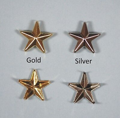 Star Rivet Studs for Metal craft, Leather work, Clothing Jewellery Findings