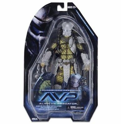 NECA ALIEN vs. PREDATOR AvP SERIES 17 YOUNGBLOOD PREDATOR 7'' Action Figure A47N