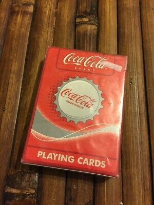 Coca Cola Playing Cards Coke Caps Images Sealed in Package 351-R Bicycle