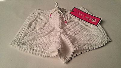 Lilly Pulitzer White Eyelet Shorts Girls Toddler 2T New w/Tags