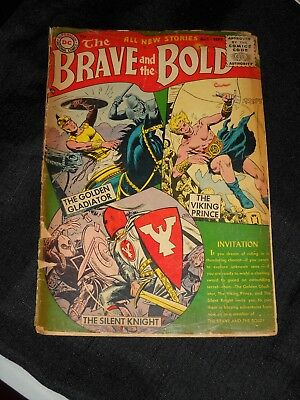 The Brave And The Bold #1 First Issue 1955 National Comics