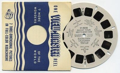SP-9038 Ghost Town Knott's Berry Farm Buena Vista California ViewMaster SP Reel