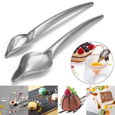 Creative Deco Spoon Decorate Food Draw Design Sauce Dressing Plate Useful Supply