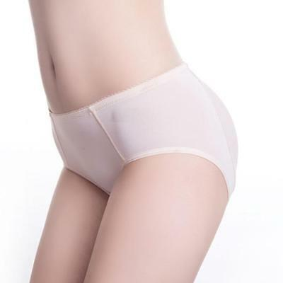 Brief Silicone Pads Butt Enhancer Shaper Panties Buttock Tummy Control Gif COP
