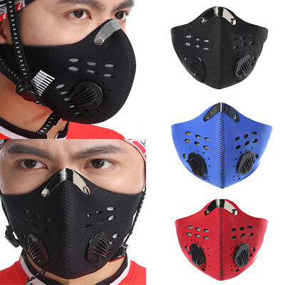 1Pc Anti-Dust Respirator Mouth Face Mask for Cyclist Cycle Bike Cycling pm COP