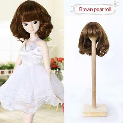 PRO,DIY Doll Wig Curly Wavy High-temperature Wire Hair for 1/3 SD S COP