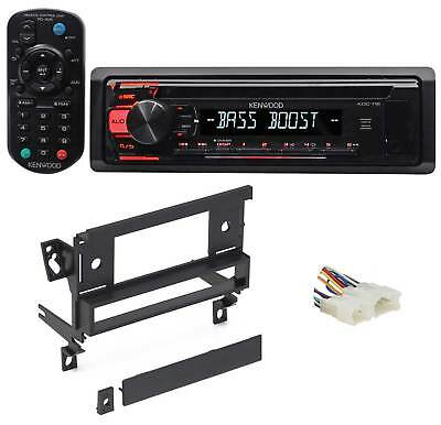 Kenwood CD Player Receiver Aux/Mp3/WMA/3-Band Eq+Remote For 98-02 Toyota Corolla