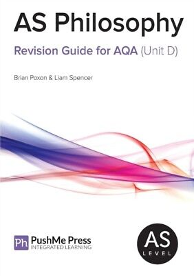 AS Philosophy Revision Guide for AQA (Unit D) (Paperback), Poxon,...