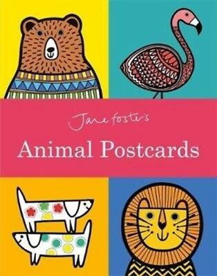 JANE FOSTERS ANIMAL POSTCARD BOOK, Foster, Jane, Foster, Jane, 97...