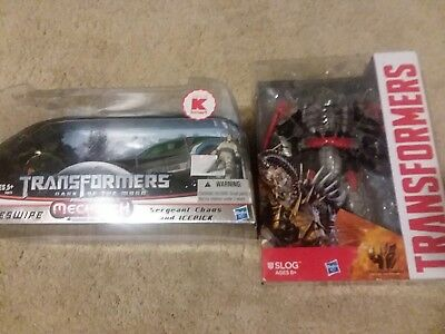 Transformers flash freeze assault human alliance sideswipe and age of extin slog