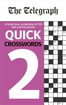 Telegraph Quick Crosswords 2, The Telegraph Media Group, 9780600635260