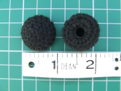 British Army Black netted Caps Buttons for Patrol tunics Victorian Officers