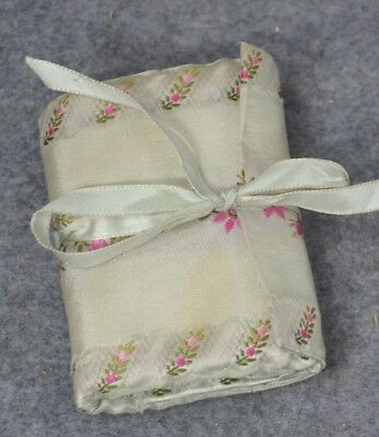 sewing roll Shaker community silk  handmade old pins  antique 1800