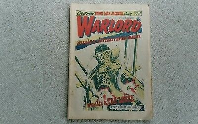 Warlord Comic (No 100)  (1976) Free P&P (Only £4.49) Issues 85, 87, 98 Added