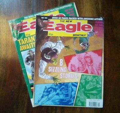Vintage Eagle Monthly Comics  See Notes (Free P&P)