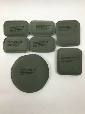 US Army 7 Pad Helmet Set ACH Combat Helmet Replacement Suspension System Mich