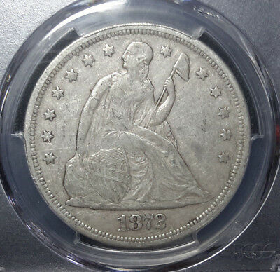 1872-P Seated Silver Dollar PCGS XF40