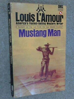 Mustang Man by L'Amour, Louis Paperback Book The Cheap Fast Free Post