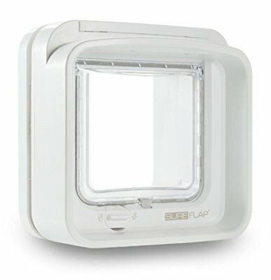 Dual Scan Microchip Cat Flap, 5060180390389 White By Sureflap