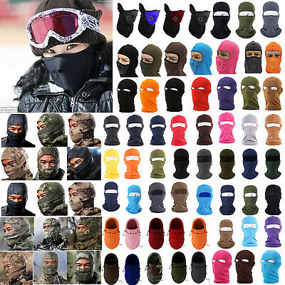Winter Warm Snowboard Full Face Mask Ski Cycling Neck Cover Motorcycle Balaclava