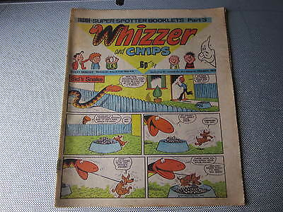 May 1976, WHIZZER & CHIPS, Andrew Dixey, Matthew Randall, Spotters Booklet pt3.
