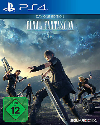 Final Fantasy XV / 15 - Day One Edition für Playstation 4 PS4 | DEUTSCHE VERSION