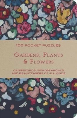Gardens & Flowers 100 Pocket Puzzles, The National Trust, 9781911358282