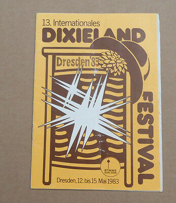 Reklame 13. Internationales Dixieland-Festival 1983