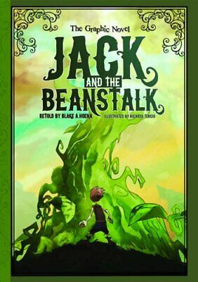 Jack and the Beanstalk: The Graphic Novel (Graphic Spin) Book The Cheap Fast