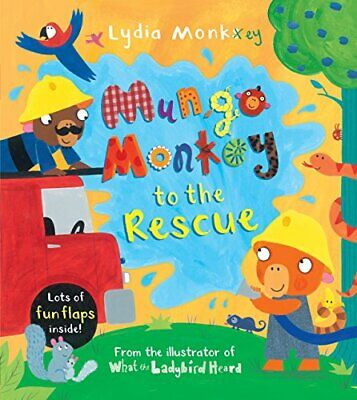 Mungo Monkey to the Rescue by Monks, Lydia Book The Cheap Fast Free Post