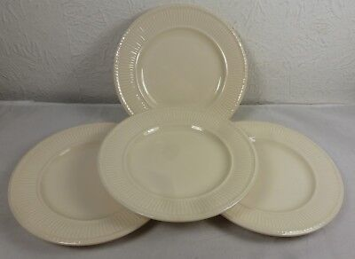 Wedgwood  Queens Ware Edme 6 inch side plates x 4 - Excellent condition