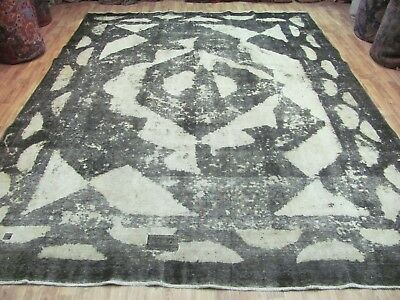 ANTIQUE NICE HANDMADE TABRIZ AZERBAIJAN PERSIAN CARPET (351 x 225 cm)