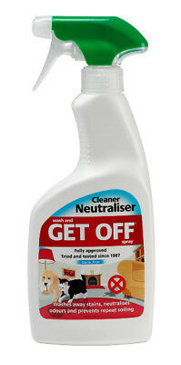 Get Off Wash And Get Off Pet Fouling Repellent Cleaner Neutraliser Spray 500ml