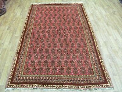 A FANTASTIC OLD HANDMADE MALAYER PERSIAN RUG (240 x 135 cm)