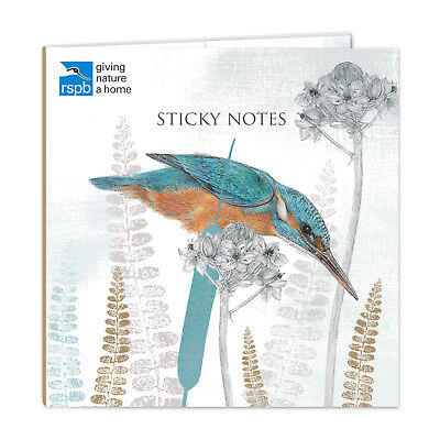 Kingfisher Wren Bird Stationery Mini Sticky Notes Selection & Notepad Ideal Gift