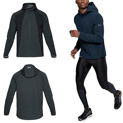 Under Armour Outrun The Storm Mens Running Jacket Red Eur 81 68