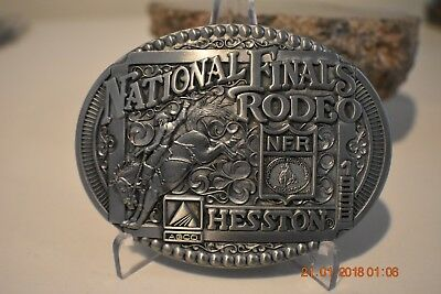 1998 National Finals Rodeo Nfr Hesston Buckle Commemorative Limited Agco