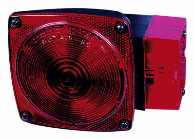 Peterson V452 Submersible Combination Tail Light For Trailer, Red