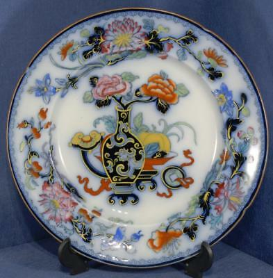Imperial Stone Dinner Plate by William Ridgway, Son & Co for John NEVE Tenterden