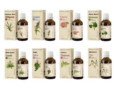 LIQUID HERBAL EXTRACT TINCTURE 100% NATURAL MANY VARIOUS HERBS CHOSE TYPE 50ml