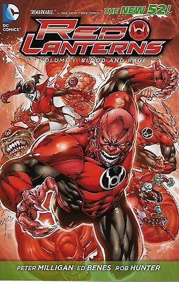 Red Lanterns Vol.1 / 2012 Blood and Rage / US TPB / Peter Milligan & Ed Benes