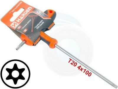 T20 T-Handle Torx Security Pin 6 Point Star Key CRV Screwdriver Wrench
