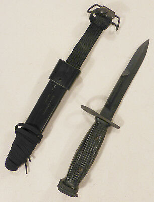 Ontario U.S. M7 Bayonet - New in Packaging, Genuine U.S. Issue OKC M10 Scabbard