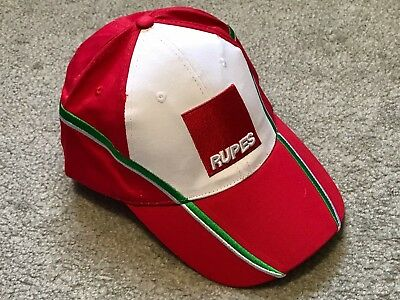 RUPES 70 Anniversary ITA Red Hat Big Foot Polisher Cap ITALY