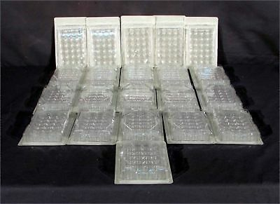 NEW 21pc LOT BD Falcon 353047 24-Well Flat-Bottom Tissue Culture Plate with Lid